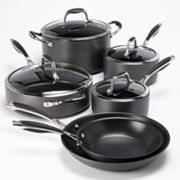 Bobby Flay 11-pc. Hard-Anodized Cookware Set