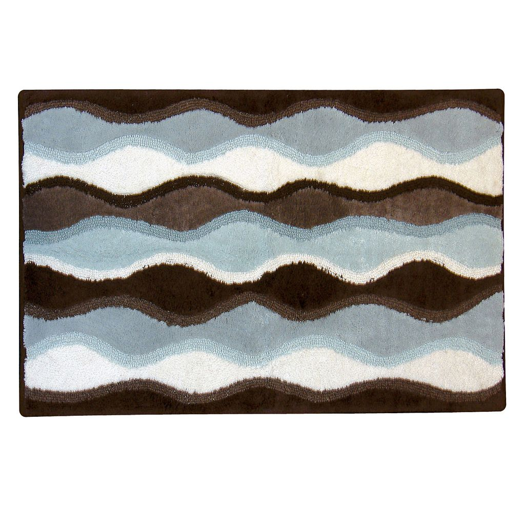 Ultra Spa Magic Plush Ripple Bath Rug - 20