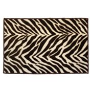 Watershed Zebra Rug - 20 x 30