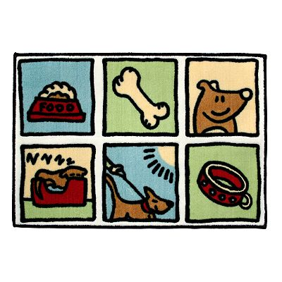 Watershed Doggy Time Rug - 20 x 30