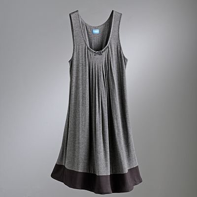 Simply Vera Vera Wang Basic Luxury Pleated Chemise