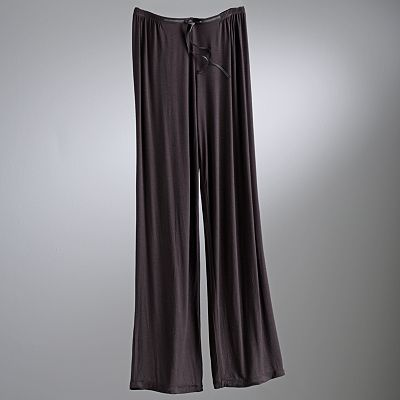 Simply Vera Vera Wang Basic Luxury Pajama Pants