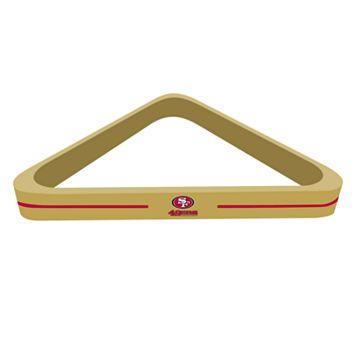 San Francisco 49ers Billiard Triangle