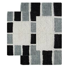 Chesapeake Mosaic Tiles 2-pk. Bath Rugs