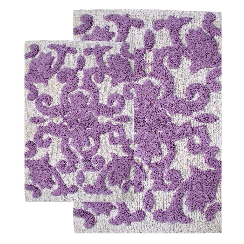 Purple Bath Rug Sets: Purple Bathroom Rug