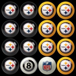 Pittsburgh Steelers Home vs. Away 16-pc. Billiard Ball Set