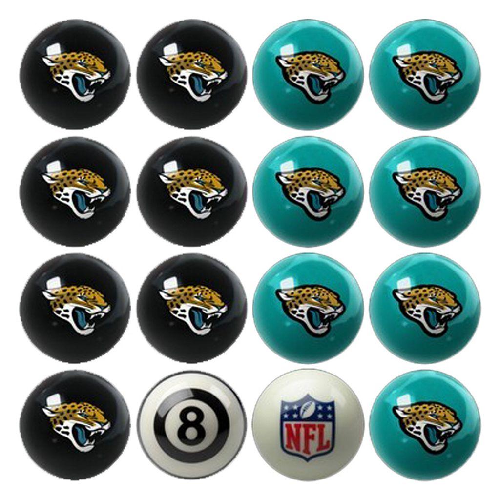 Jacksonville Jaguars Home vs. Away 16-pc. Billiard Ball Set