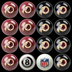 Washington Redskins Home vs. Away 16-pc. Billiard Ball Set