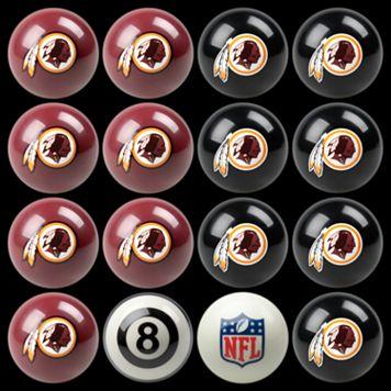 Washington Redskins Home vs. Away 16-pc. Billiard Ball Set