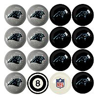 Carolina Panthers Home vs. Away 16 pc Billiard Ball Set