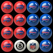 Buffalo Bills Home vs. Away 16 pc Billiard Ball Set
