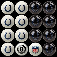 Indianapolis Colts Home vs. Away 16-pc. Billiard Ball Set