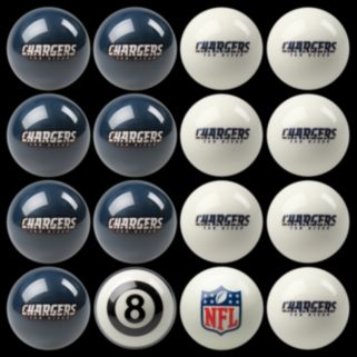 San Diego Chargers Home vs. Away 16-pc. Billiard Ball Set