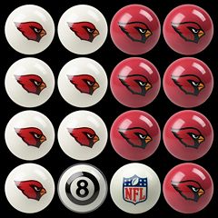 Arizona Cardinals Home vs. Away 16-pc. Billiard Ball Set