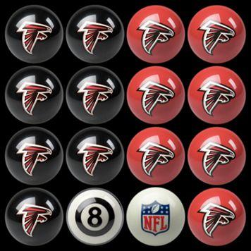 Atlanta Falcons Home vs. Away 16-pc. Billiard Ball Set