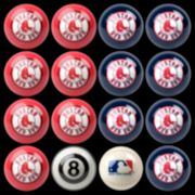 Boston Red Sox Home vs. Away 16-pc. Billiard Ball Set