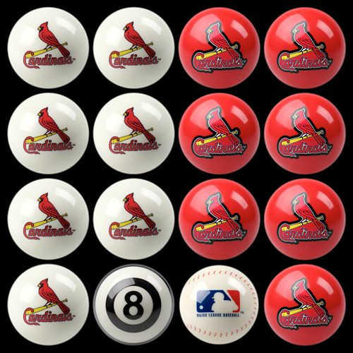 St. Louis Cardinals Home vs. Away 16-pc. Billiard Ball Set