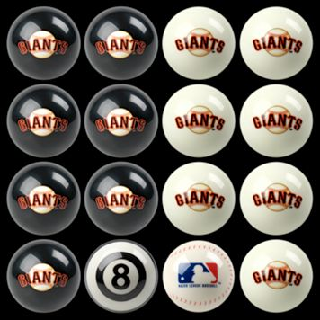 San Francisco Giants Home vs. Away 16-pc. Billiard Ball Set
