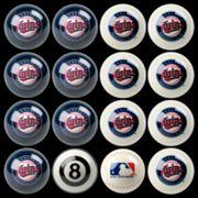 Minnesota Twins Home vs. Away 16 pc Billiard Ball Set
