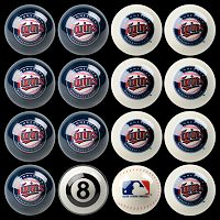 Minnesota Twins Home vs. Away 16 pc Billiard Ball Set