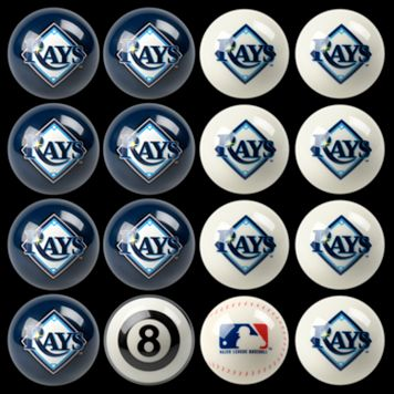 Tampa Bay Rays Home vs. Away 16-pc. Billiard Ball Set