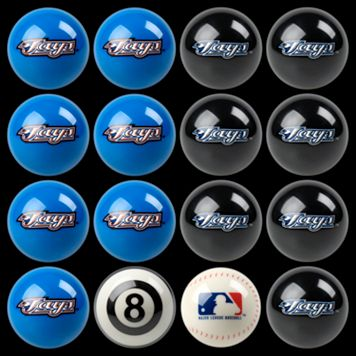 Toronto Blue Jays Home vs. Away 16-pc. Billiard Ball Set