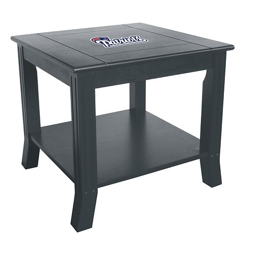 New England Patriots Side Table