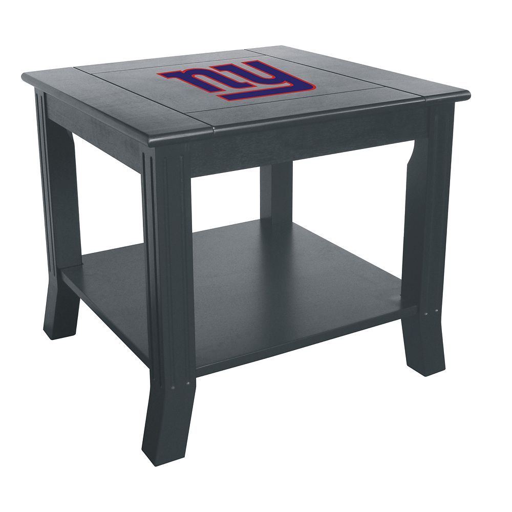 New York Giants Side Table