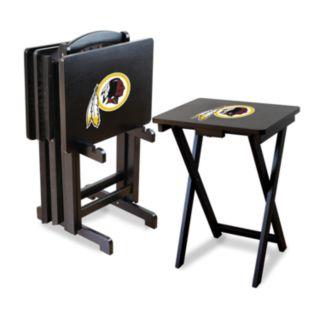 Washington Redskins TV Tray Table Set
