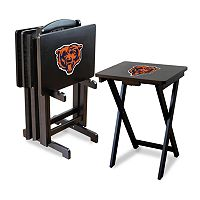 Chicago Bears TV Tray Table Set