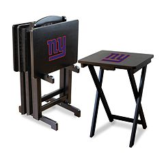 New York Giants TV Tray Table Set