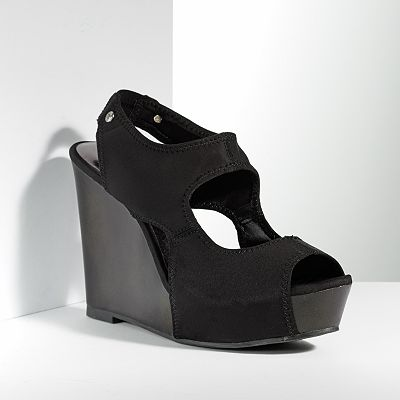 Simply Vera Vera Wang Wedge Sandals - Women