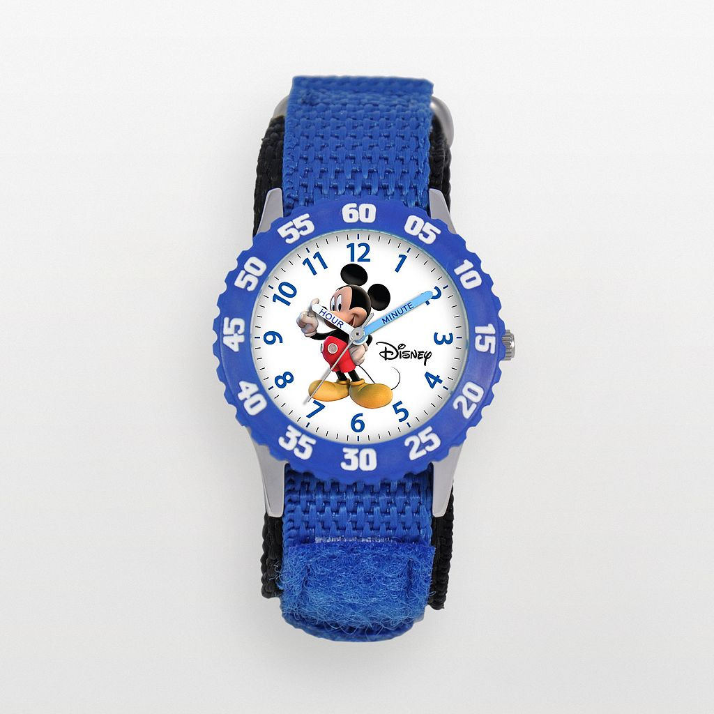 Disney's Mickey Mouse Kids' Time Teacher Watch