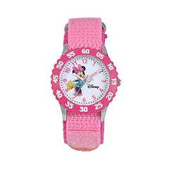 Disney's Minnie Mouse Kids' Time Teacher Watch