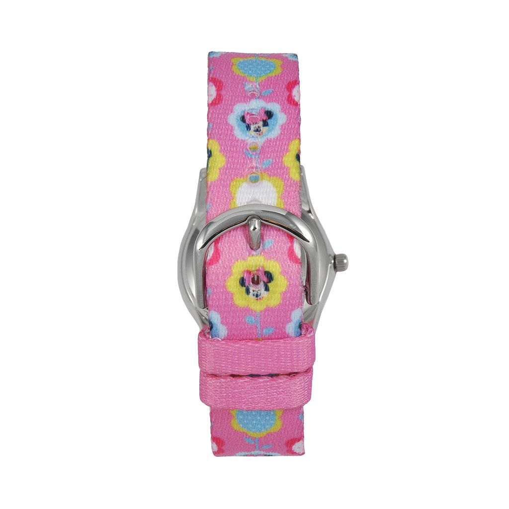 Disney's Minnie Mouse Kids' Floral Time Teacher Watch