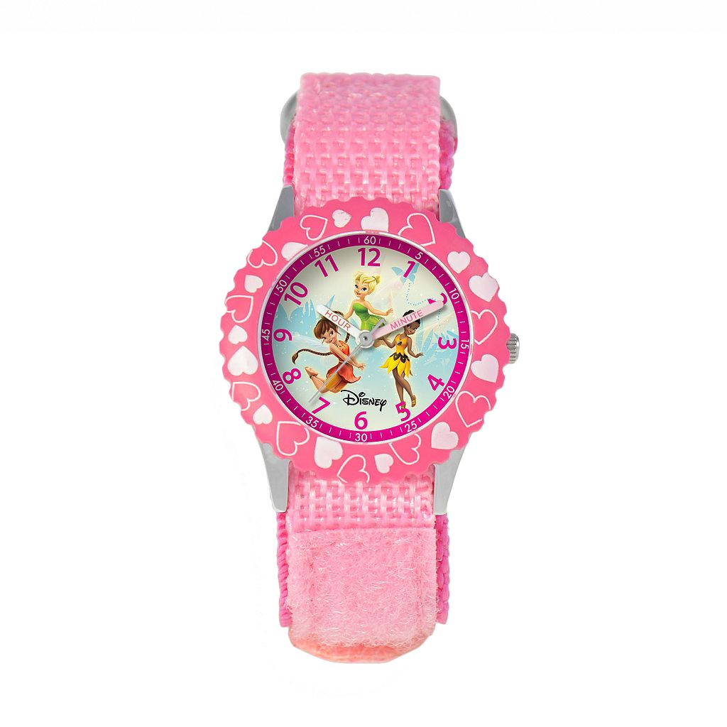 Disney Fairies Tinker Bell, Fawn & Iridessa Kids' Time Teacher Watch