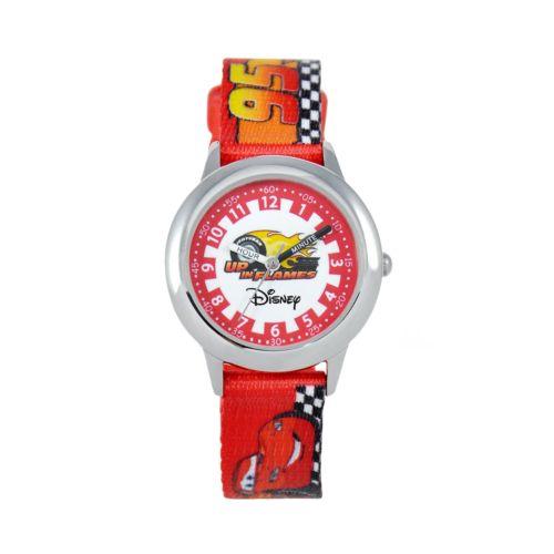 Disney / Pixar Cars Time Teacher Stainless Steel Watch - Kids