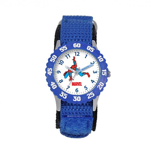 Marvel Spider-Man Time Teacher Stainless Steel Watch