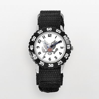 United States Army Time Teacher Stainless Steel Watch