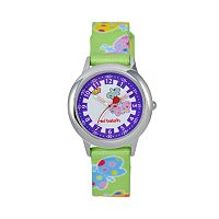 Red Balloon Kids' Time Teacher Butterfly Watch