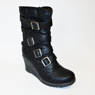 Bucco Porcia Wedge Boots - Women