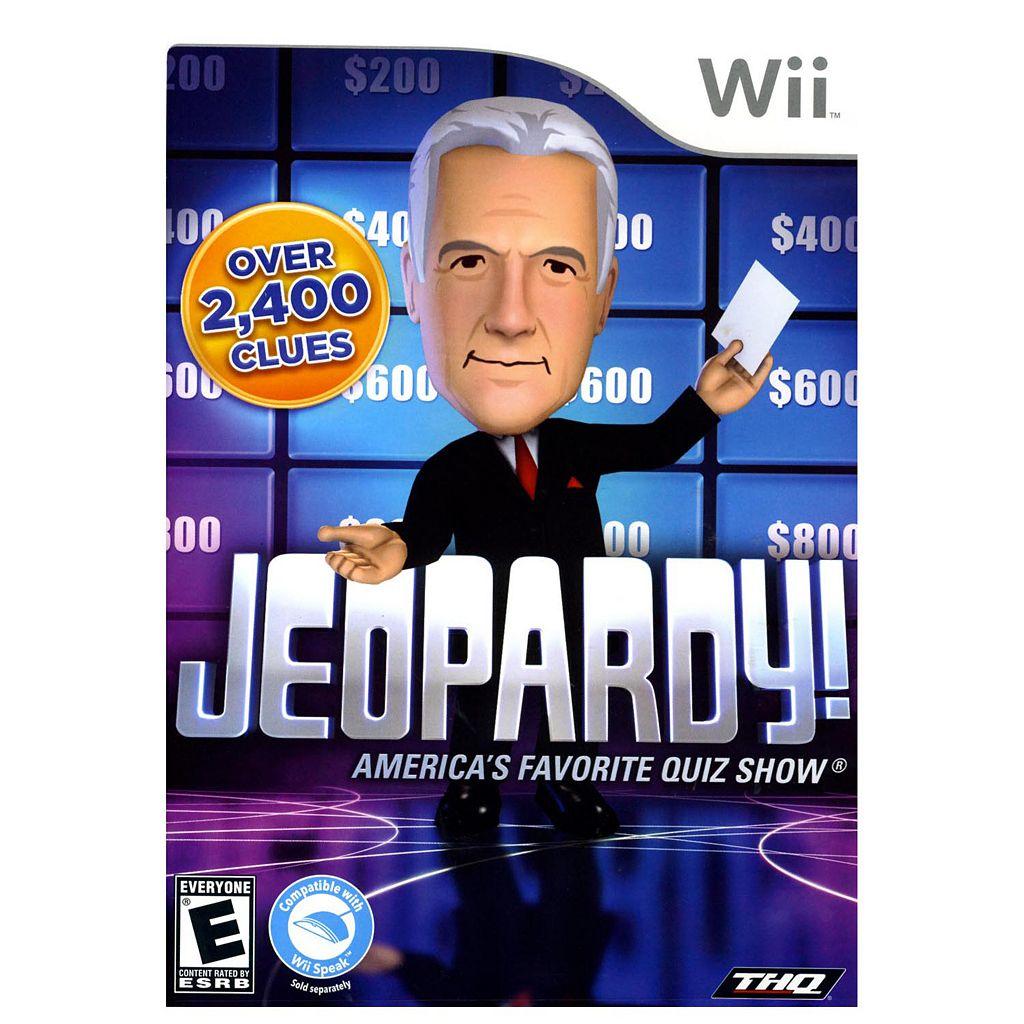 Jeopardy! for Nintendo Wii