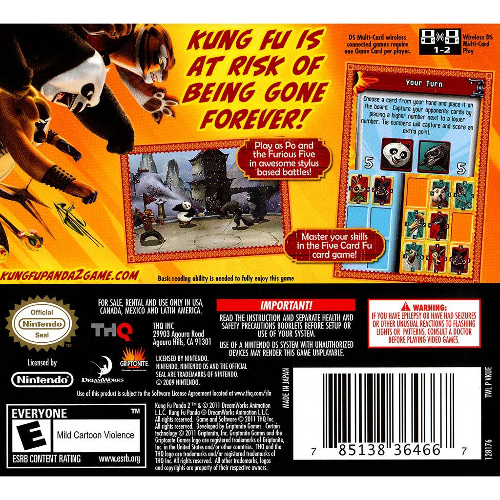 Kung Fu Panda 2 for Nintendo DS