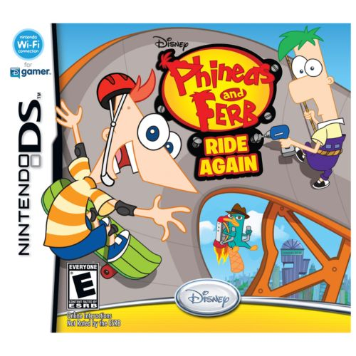 Phineas and Ferb Ride Again for Nintendo DS