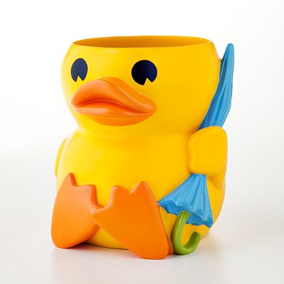 Jumping Beans Lucky Duck Wastebasket