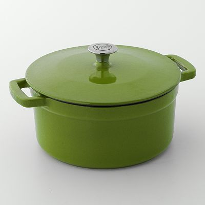 Food Network 7-qt. Enamel Cast-Iron Dutch Oven