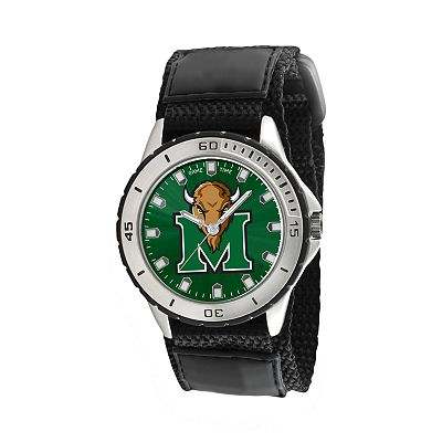 Game Time Veteran Series Marshall Thundering Herd Silver Tone Watch - COL-VET-MAR