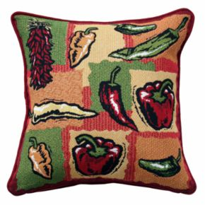 Park B. Smith Hot Peppers Decorative Pillow