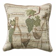 Park B. Smith Fruit Of The Vine Decorative Pillow