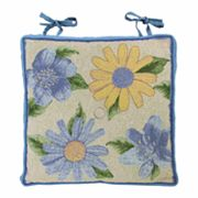 Park B. Smith Spring Bloom Tapestry Chair Pad